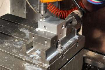 Machining of a special hydraulic manifold